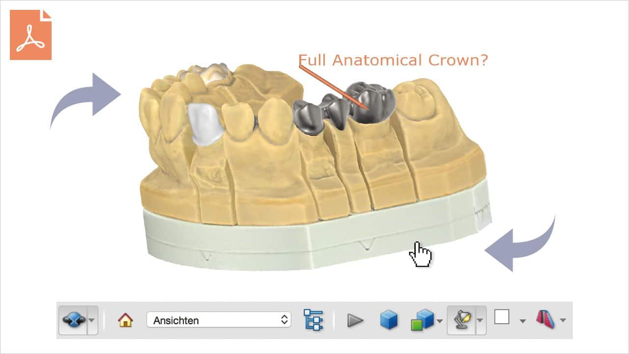 Enregistrez De Vrais Fichiers PDF 3D Qui Peuvent être Visualisés En 3D à L'aide D'un Visualiseur PDF Standard