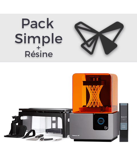 Pack Formlabs Form 2 Simple + Résine