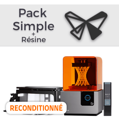 Pack Formlabs Form 2 Simple + Résine (reconditionné)