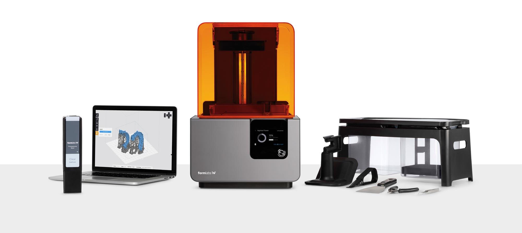 Imprimante 3D form 2 la meilleure pour le dentaire