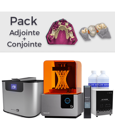 Pack Formlabs Form 2 Adjointe + Conjointe