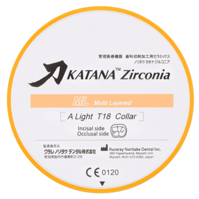 Zircone KATANA™ Kuraray ML
