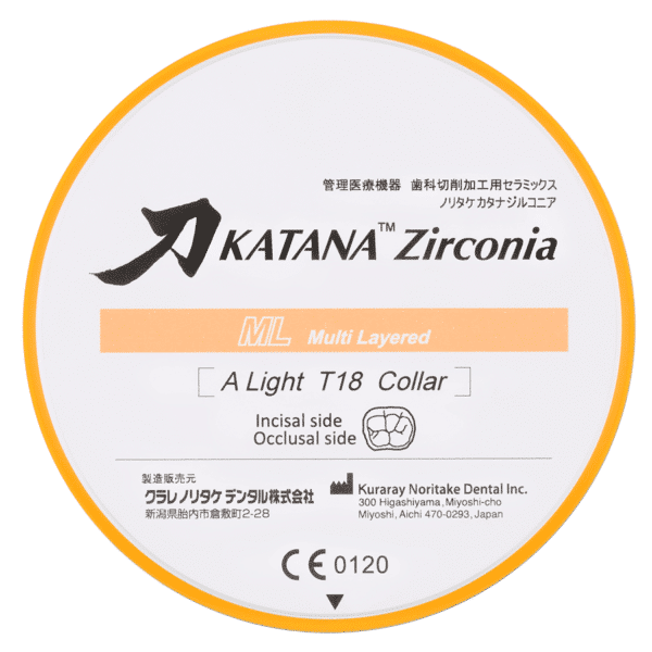 Katana Zirconia Ml Disc White