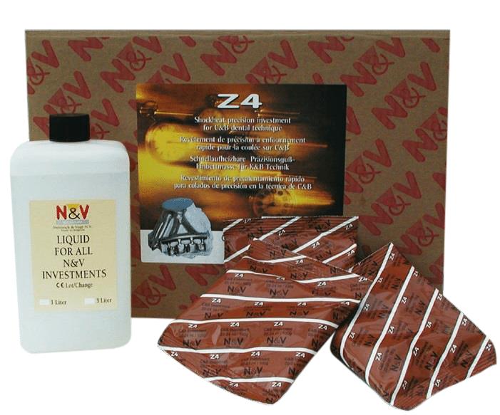 Revêtement N&V® Z4 (8,960 Kg) + Liquide D'expansion (2 L)
