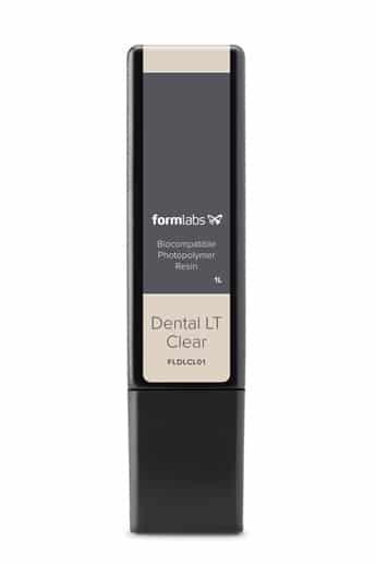 Résine Dental LT Clear Cartouche 1L