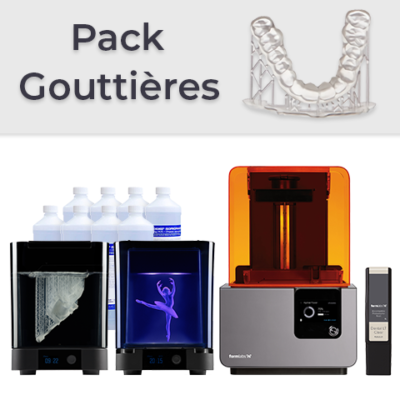 Pack Formlabs Form 2 Gouttières