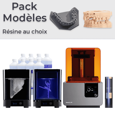 Pack Formlabs Form 2 Modèles