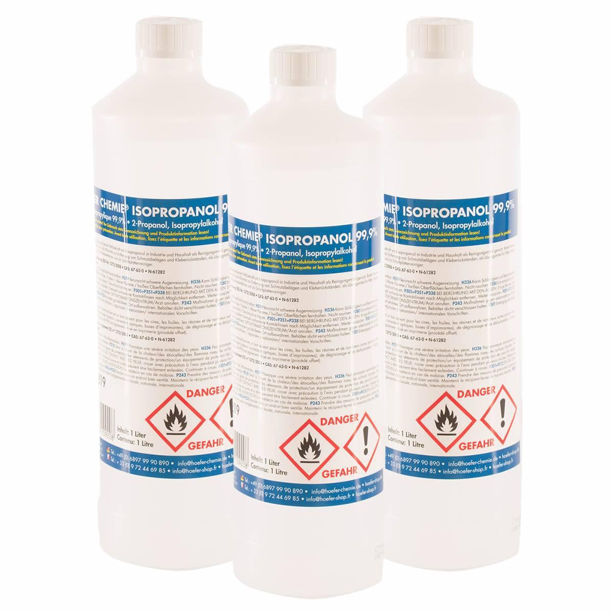 Alcool Isopropanol 99.9% 1L