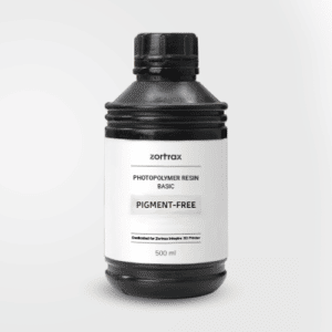 Résine Zortrax Sans Pigment 500ml