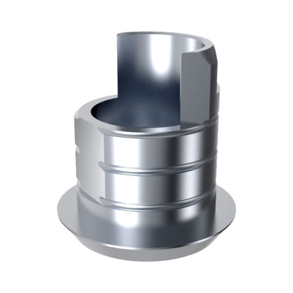 ARUM EXTERNAL TI BASE SHORT TYPE (RP) 4.1 NON-ENGAGING - Compatible avec 3i® External®