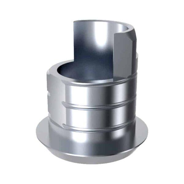 ARUM EXTERNAL TI BASE SHORT TYPE (6.0) NON-ENGAGING - Compatible avec SOUTHERN IMPLANTS® External