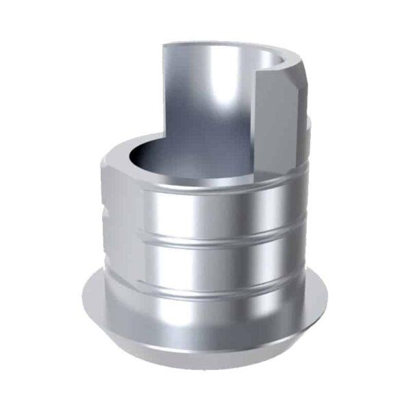 ARUM EXTERNAL TI BASE SHORT TYPE 4.0(RP) NON-ENGAGING - Compatible avec NOBELBIOCARE® Branemark®