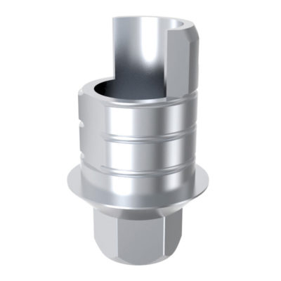 ARUM INTERNAL TI BASE SHORT TYPE (RP) 4.5 ENGAGING – Compatible Avec MIS® Internal Hexagon