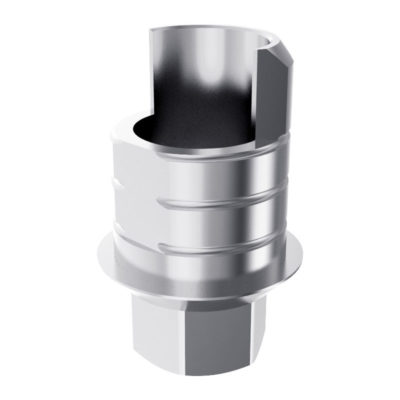 ARUM INTERNAL TI BASE SHORT TYPE (WP) 5.7 ENGAGING – Compatible Avec Implant Direct® Legacy®