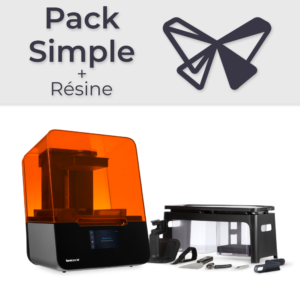 Formlabs Form 3 – Pack Simple + Résine