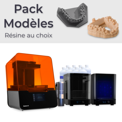 Pack Formlabs Form 3 Modèles
