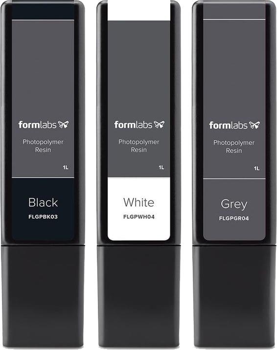 Utilisation Form 3B LFS Résine Formlabs