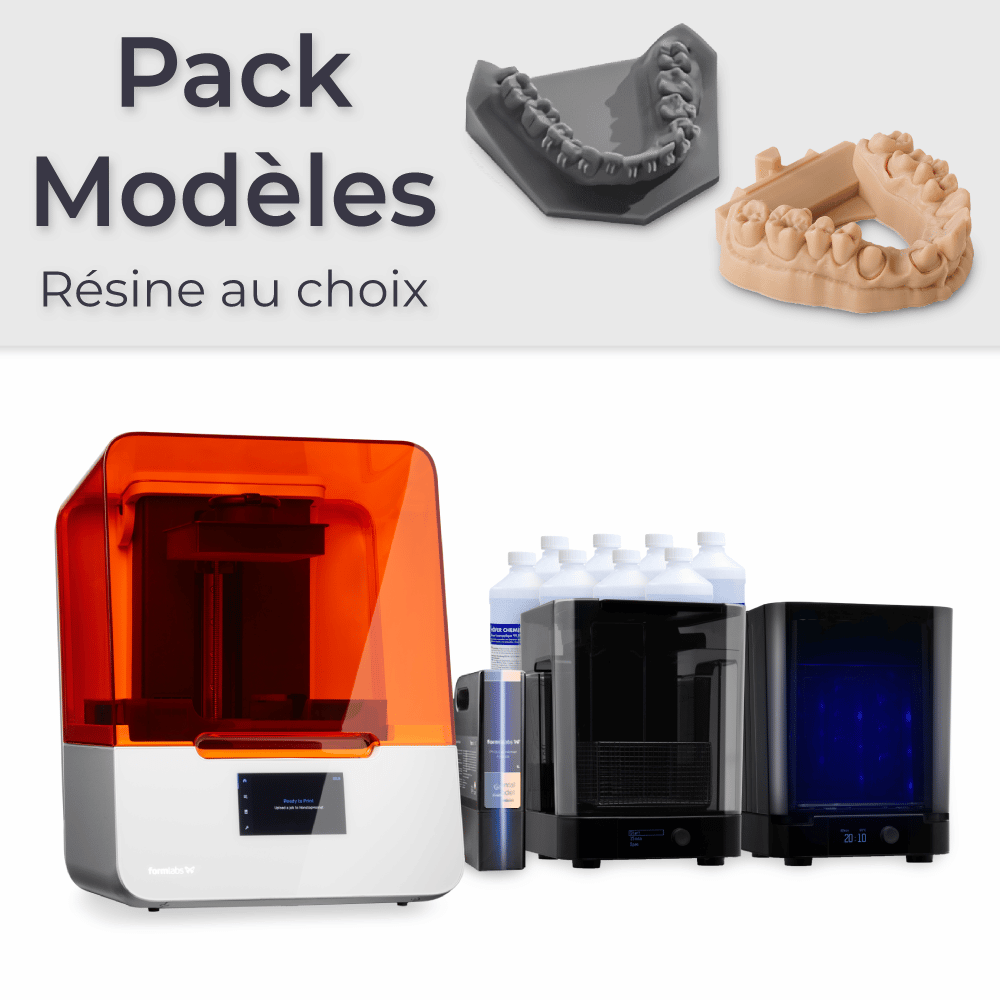 Formlabs Form 3B – Pack Modèles