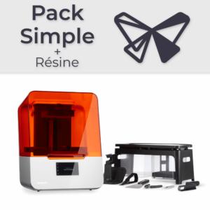 Formlabs Form 3B – Pack Simple + Résine
