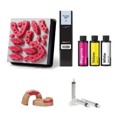 Pack De Démarrage Soft Tissue Resin / Fausse Gencive