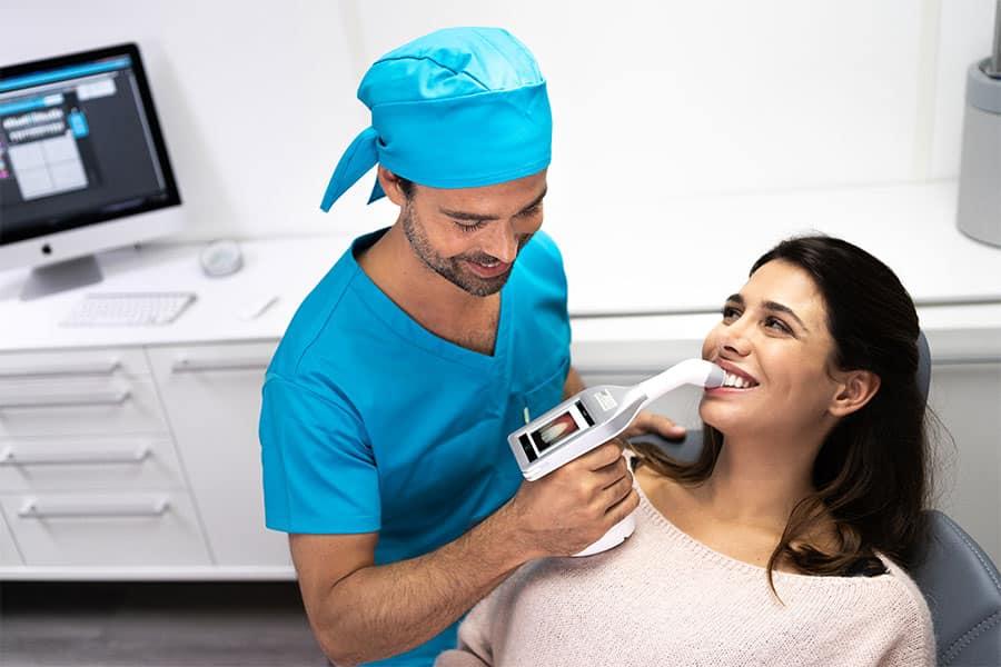 Rayplicker Handy – prise de teinte dent
