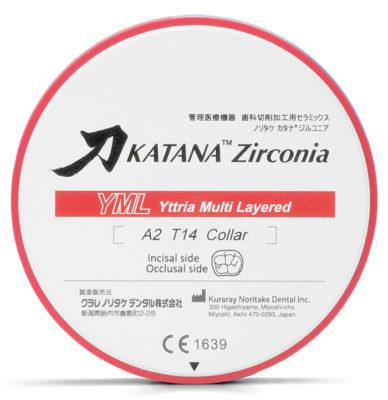 Zircone KATANA™ Kuraray YML